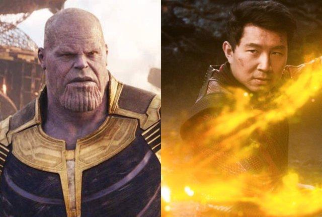 Thanos y Shang-Chi