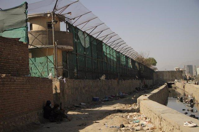 Voltants de l'aeroport de Kabul després de l'atemptat
