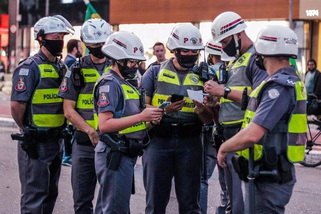 Archivo - Policía de Sao Paulo, Brasil
