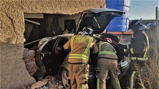 Accidente de tráfico en Ojós