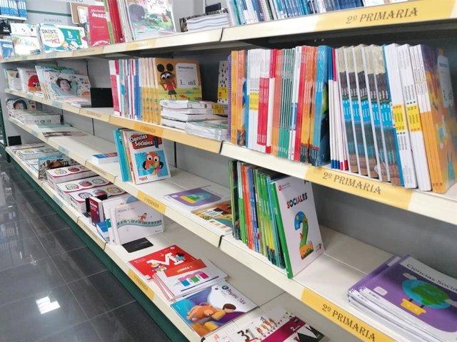 Archivo - Libros de texto de Educación Primaria.
