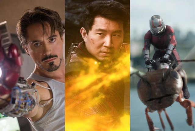 Iron Man, Shang Chi y Ant-Man