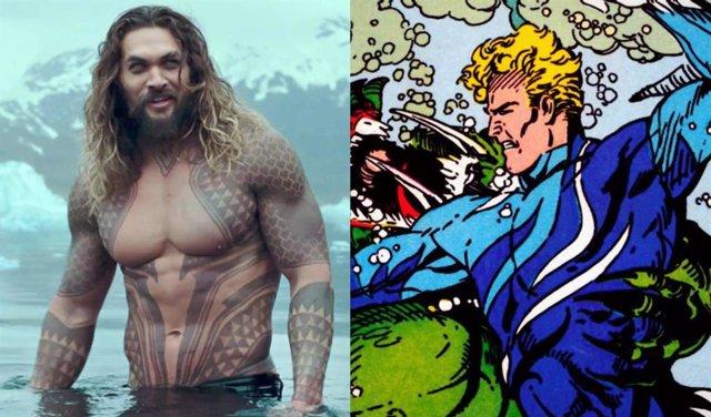 Jason Momoa estrena nuevo traje en Aquaman 2