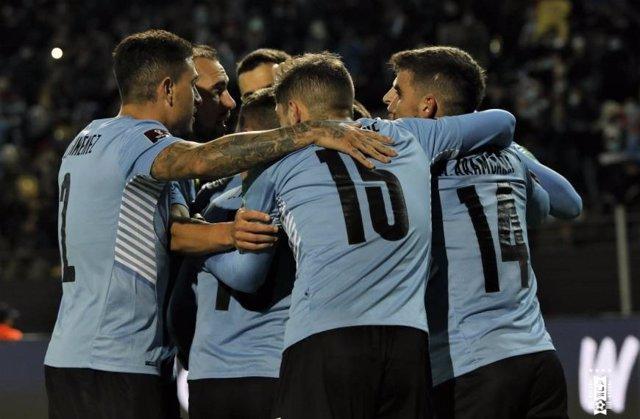 Uruguay celebra su victoria