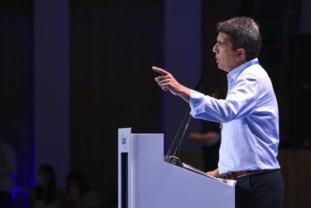Archivo - Carlos Mazón (PPCV) en un comunicado