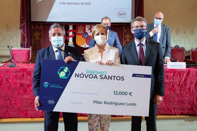Acto de entrega del XXII Premio Nóvoa Santos