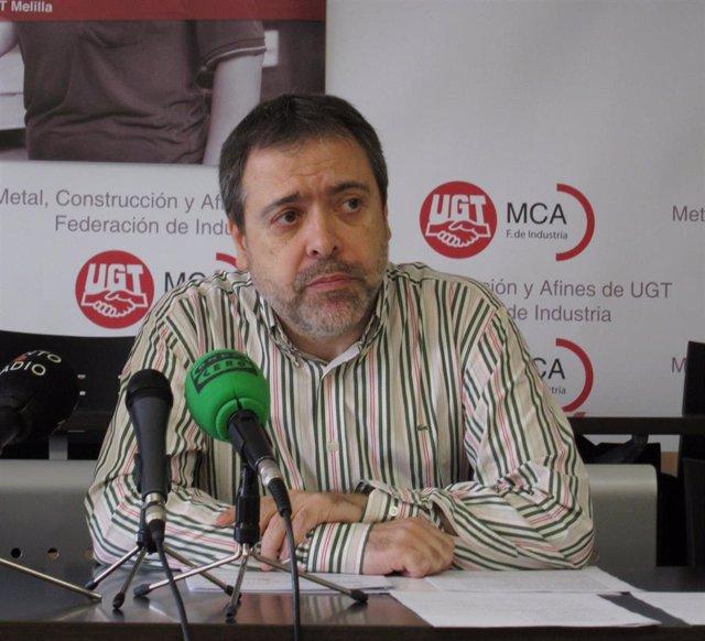 Archivo - Mariano Hoya, vicesecretario general de Política Sindical de UGT