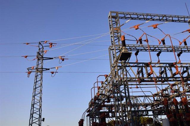 Una central eléctrica