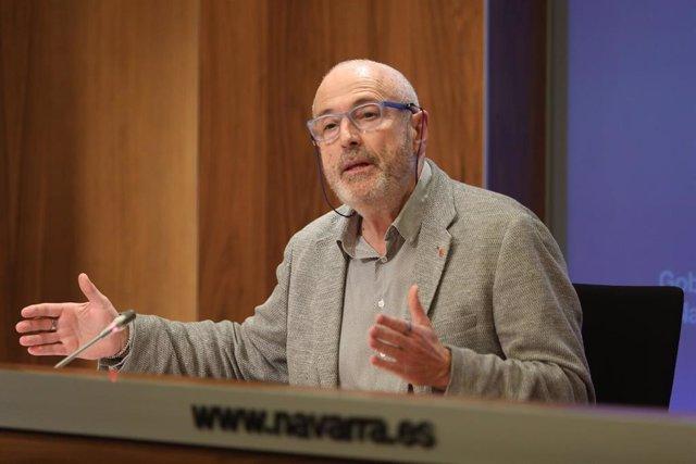Archivo - Carlos Artundo, director general de Salud del Gobierno de Navarra