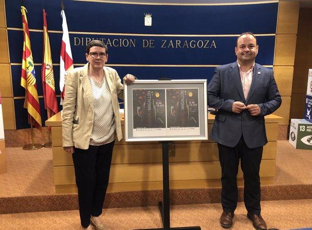 Presentación de la V edición de 'Saborea Magallon' en la DPZ