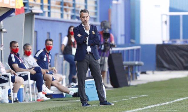 El seleccionador nacional femenino de fútbol, Jorge Vilda.