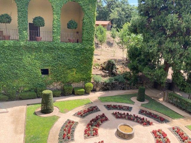 Archivo - Jardines del emperador en ell Monasterio de Yuste