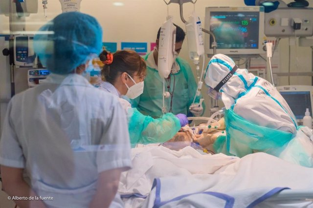 Archivo - Paciente Covid-19