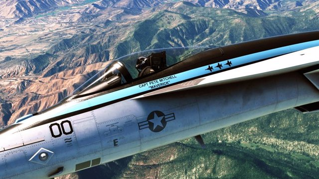 Expansión de Top Gun de Microsoft Flight Simulator.