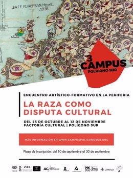 Cartel del III Campus Polígono Sur