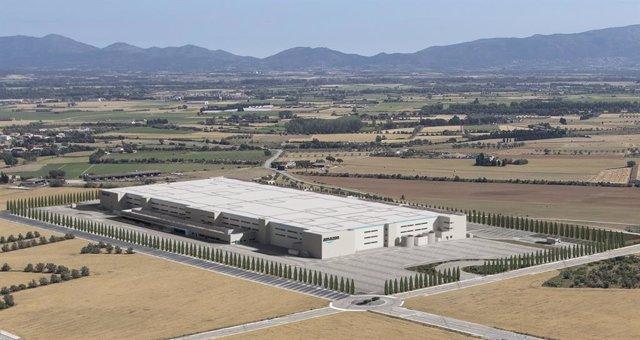 El centre logístic que Amazon obrirà a Girona el 2022