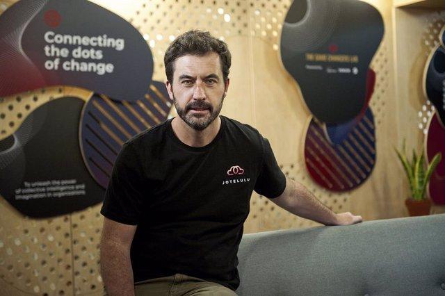 Archivo - El consejero delegado de Jotelulu, David Amorín