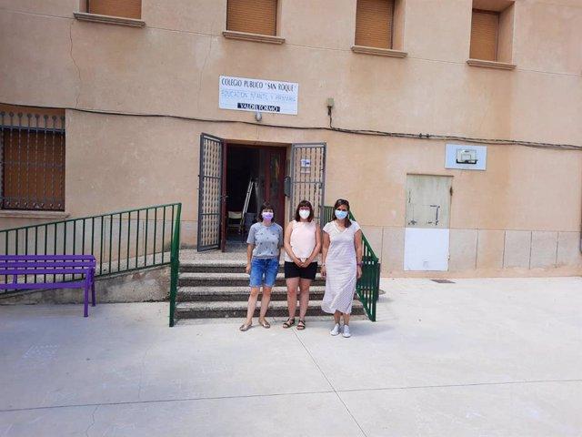 Colegio de Valdeltormo.