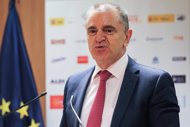 Archivo - Jose Manuel Franco, President of Consejo Superior de Deportes, attends during the announcement of the official shortlist for the Tokyo 2020 Paralympic Games at Consejo Superior de Deportes on July 14, 2021 in Madrid, Spain.