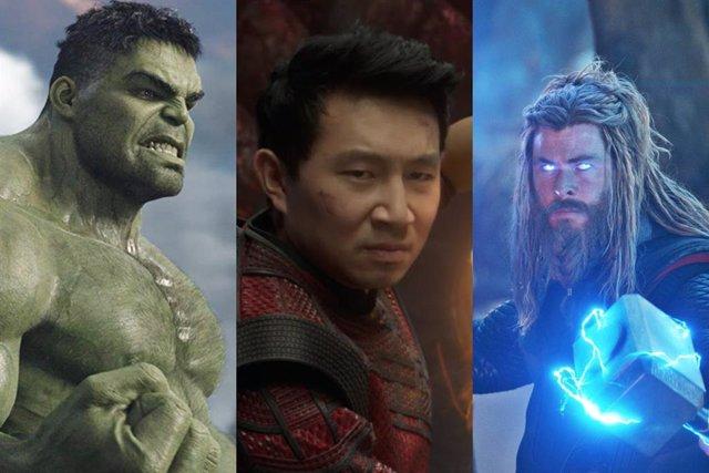 Hulk, Shang-Chi y Thor