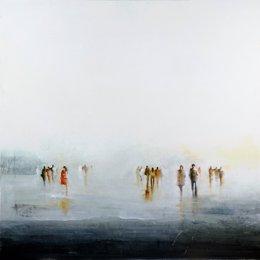 Cuadro 'Niebla Norte', de Anka Moldovan.