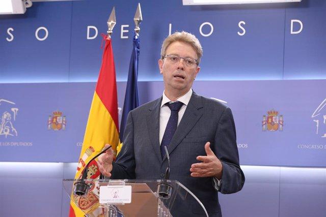 El portaveu parlamentari del PDeCAT, Ferran Bel