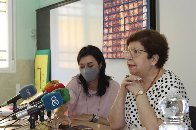 Rueda de prensa en Ceuta sobre escolarización de menores llegados en mayo