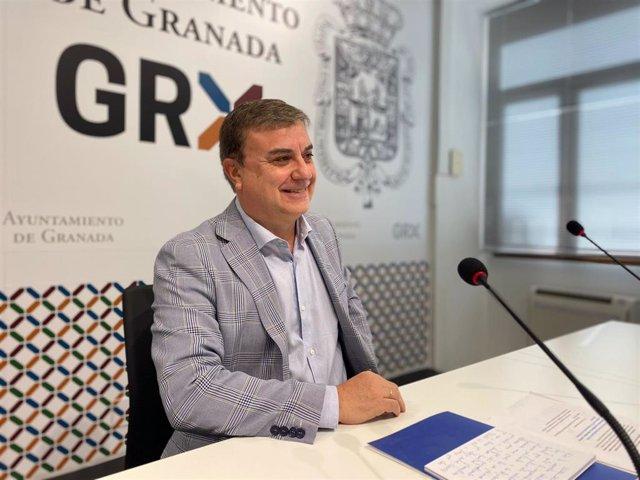 El edil del PP en Granada Francisco Fuentes