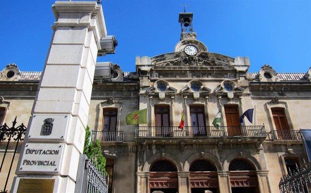 Archivo - Fachada de la Diputación de Jaén.