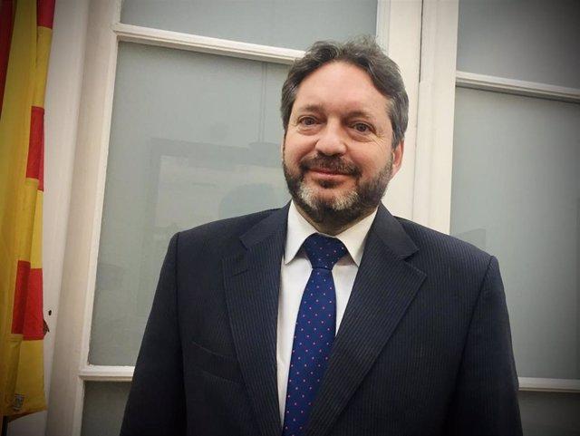 Sergi Blàzquez, nuevo secretario de Medidas Penales, Reinserción y Atención a la Víctima de la Generalitat.