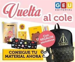 Vuelta al cole con Editorial GEU