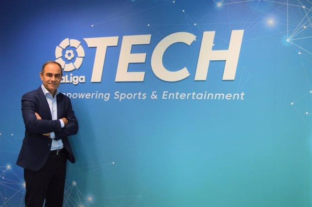 Miguel Ángel Leal, nuevo director general de LaLiga Tech.