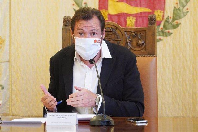 Archivo - El alcalde de Valladolid, Óscar Puente.