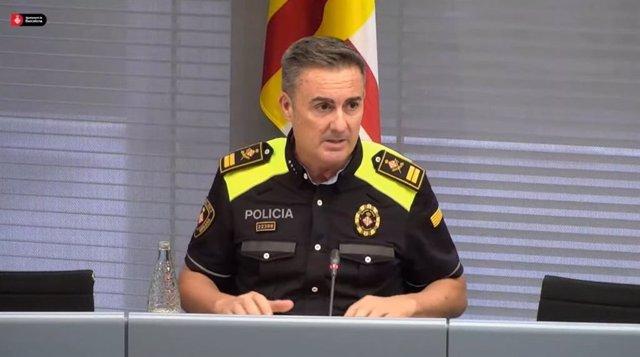 L'intendent major de la Guàrdia Urbana de Barcelona, Pedro Velázquez