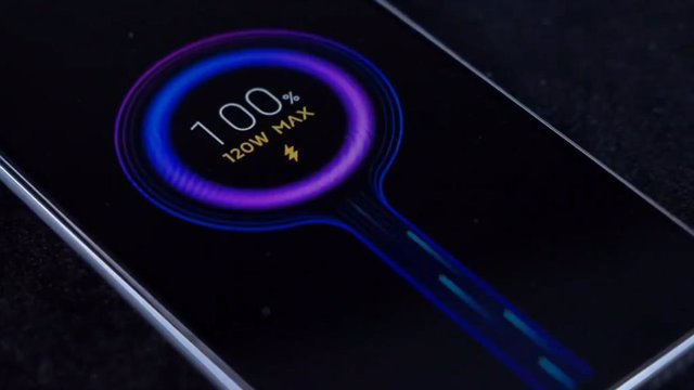 Carga rápida de 120W de Xiaomi.