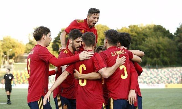 La selección española Sub-21 supera a Lituania (0-2) en el segundo partido de la fase de clasificación para el Europeo