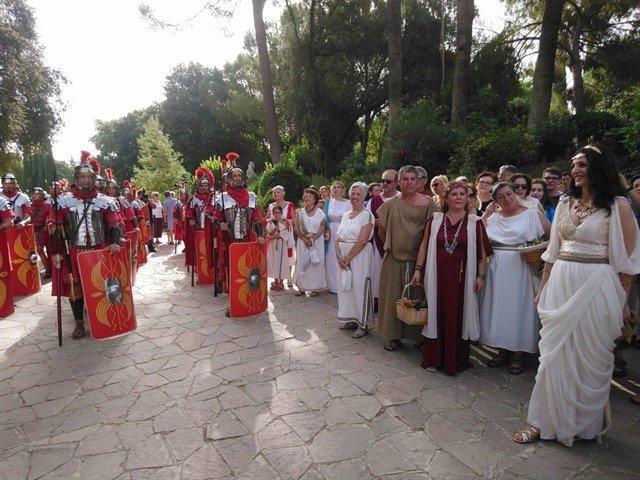 Archivo - Imagen de archivo de una recreación histórica en Itálica
