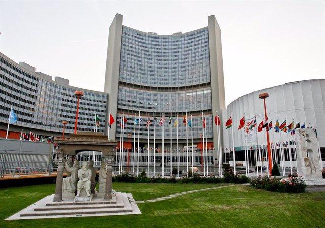 Archivo - Sede de la Agencia Internacional de la Energía Atómica en Viena