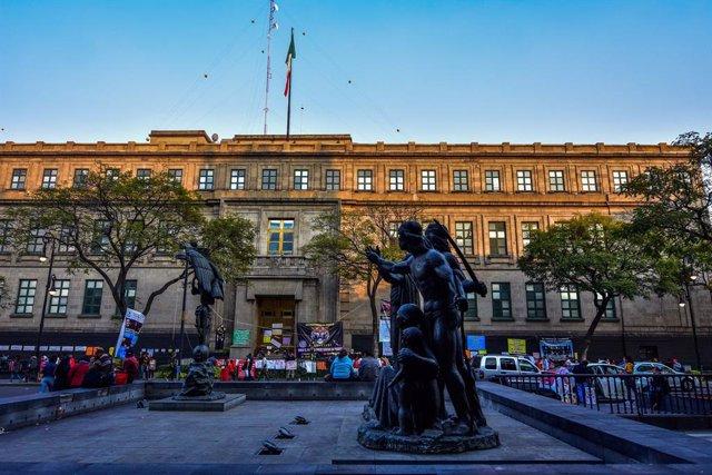 Sede de la Suprema Corte de Justicia de la Nación de México (SCJN)
