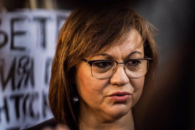 Archivo - La líder del Partido Socialista de Bulgaria (BSP) Kornelia Ninova