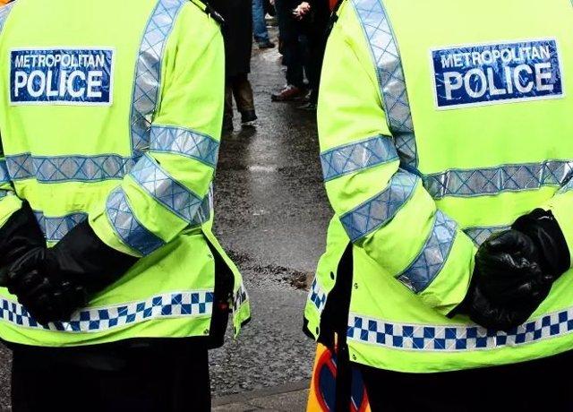 Archivo - Agentes de la Policía Metropolitana de Londres