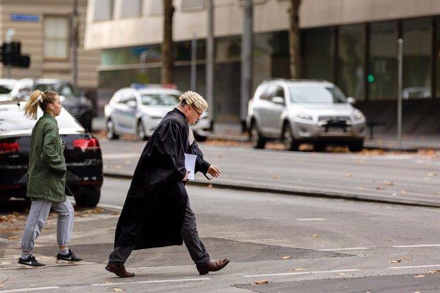 Un abogado australiano en Melbourne.