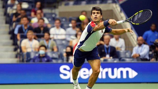 Carlos Alcaraz en el US Open