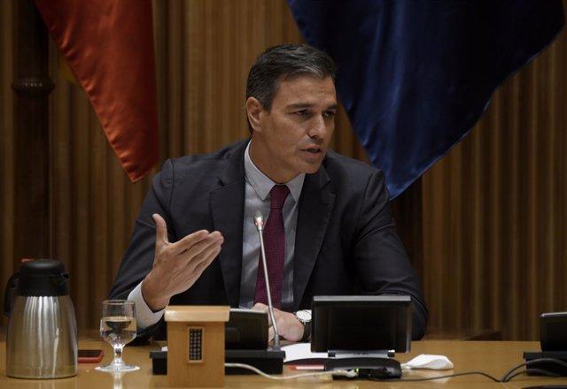 El secretari general del PSOE i president del Govern central, Pedro Sánchez