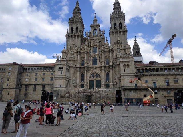 Archivo - Catedral de Santiago de Compostela.