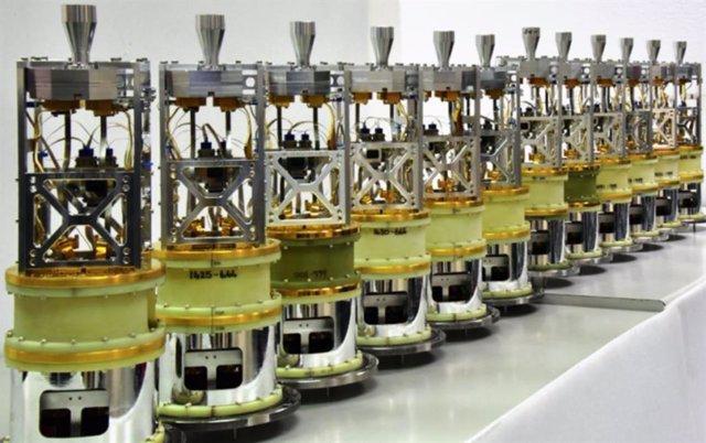Nuevos receptores para las antenas del complejo de radiotelescopios ALMA