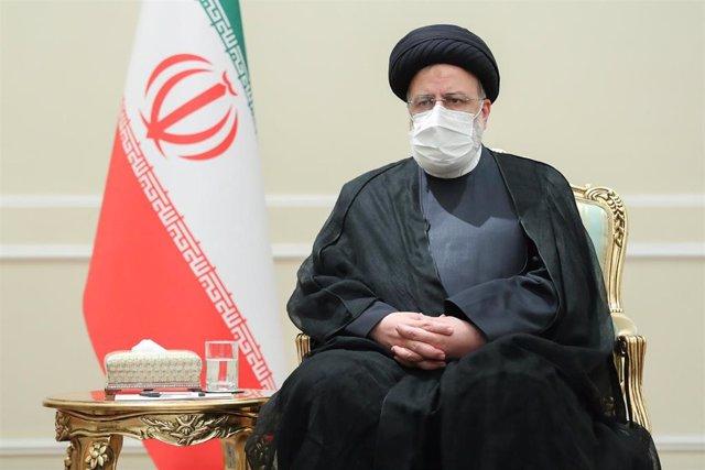 El presidente de Irán, Ebrahim Raisi.