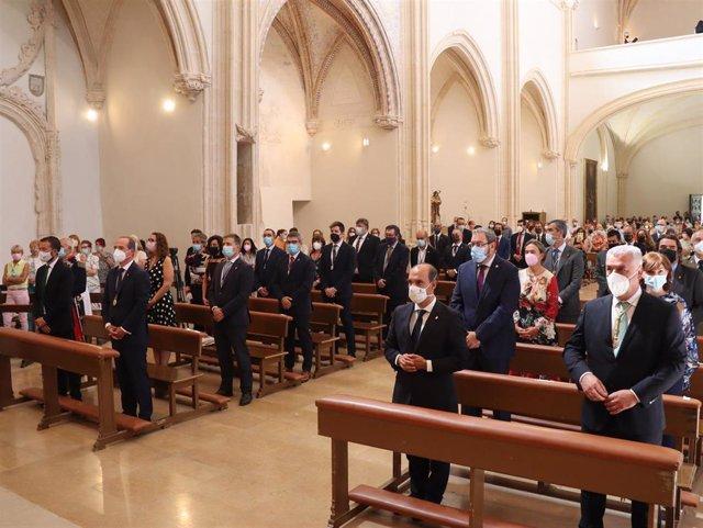 Misa mayor con motivo del día de la Virgen de la Antigua de Guadalajara