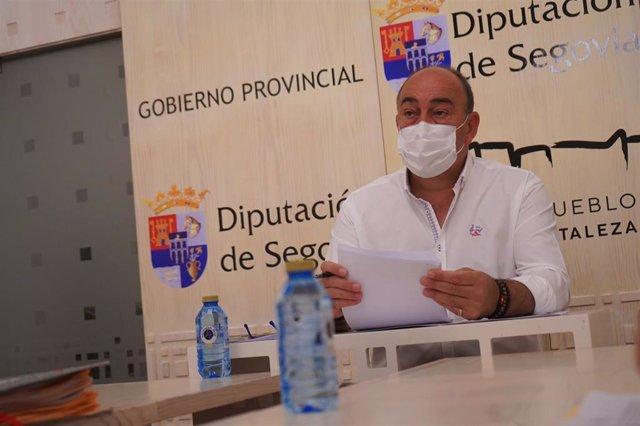 Presidente de la Diputación de Segovia, Miguel Ángel de Vicente.