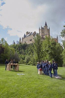 Archivo - MasterChef Celebrity 6 en el Alcázar de Segovia.